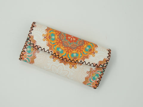 Wallet Embroidered Mandala