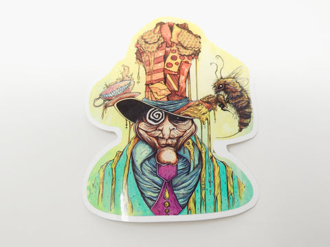Sticker Mad Hatter Honey