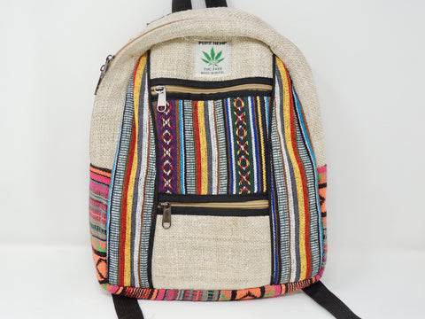 Backpack Tribal Hemp