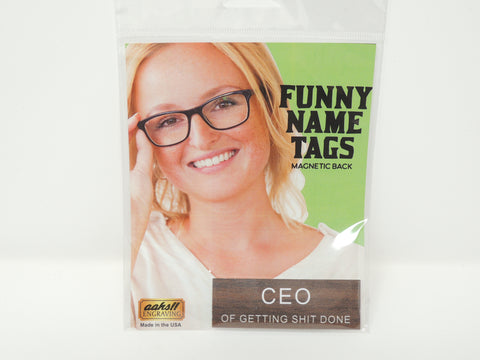 Name Tag CEO