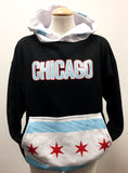 Hoody Chicago Flag