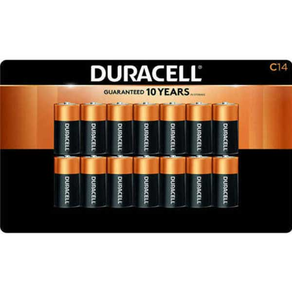 DURACELL BATTERY C LR14 1.5V (14 PCS) - Home-Fix Cambodia