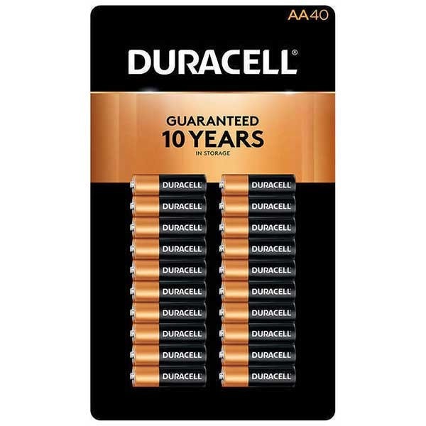 DURACELL BATTERY AA LR6 1.5V (40 PCS) - Home-Fix Cambodia