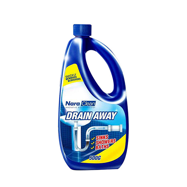 NARA CLEAN DRAIN AWAY REMOVE HEAVY DIRT IN THE BATHROOM 500g<br>ទឹកបំបាត់ស្ទះ