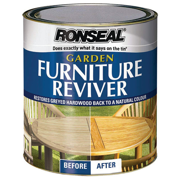 RONSEAL 33560 G/F REVIVER CLEAR 1L <br> ថ្នាំលាបឈើ (1 លីត្រ) - Home-Fix Cambodia