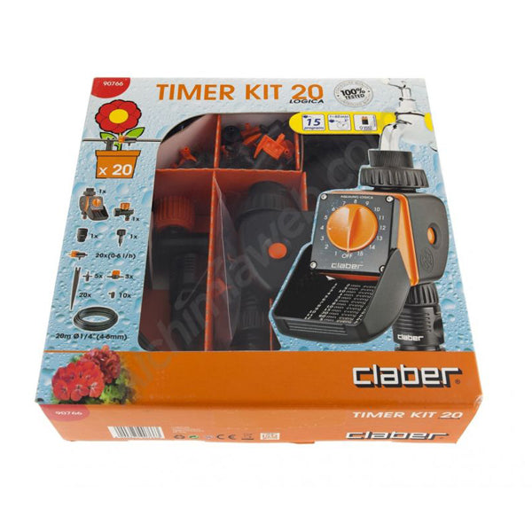 CLABER 90766 20 LOGICA TIMER KIT<br>ក្បាលរ៉ូប៊ីណេបាញ់ទឹក - Home-Fix Cambodia