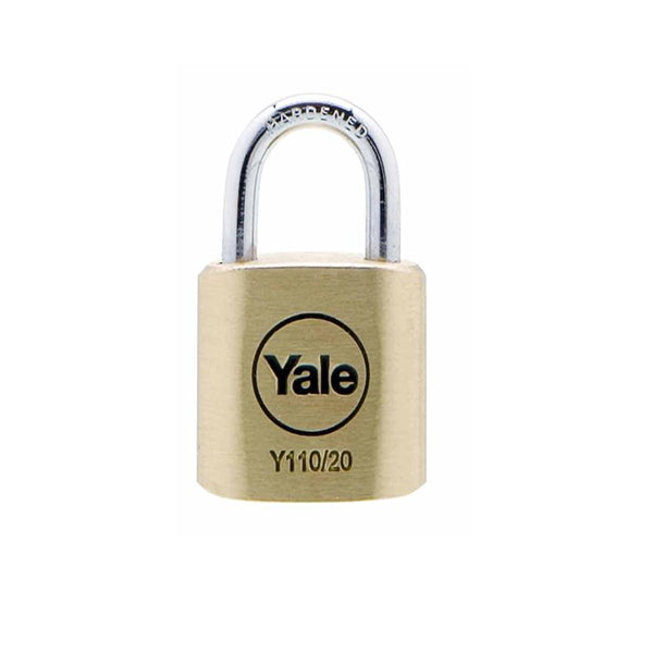 YALE Y110/20/111/1 BRS PADLOCK 3KEY <br> សោរ - Home-Fix Cambodia