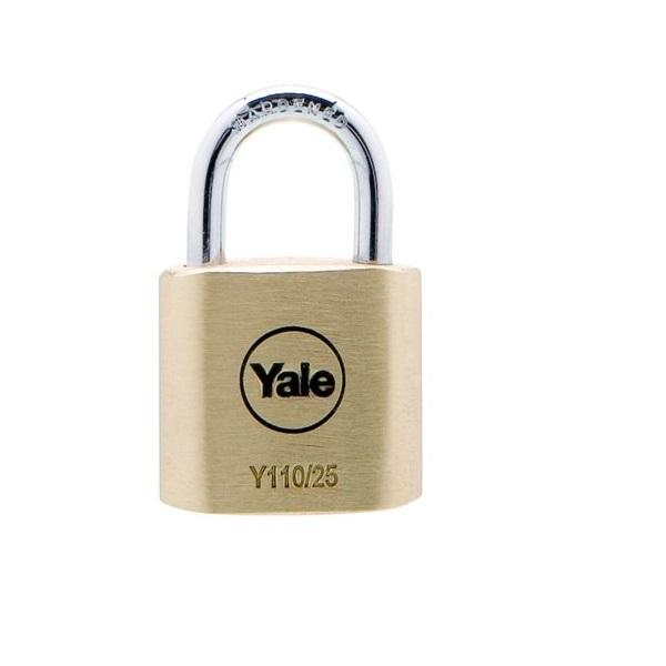 YALE Y110/25/115/1 BRS PADLOCK 3KEY <br> សោរ - Home-Fix Cambodia
