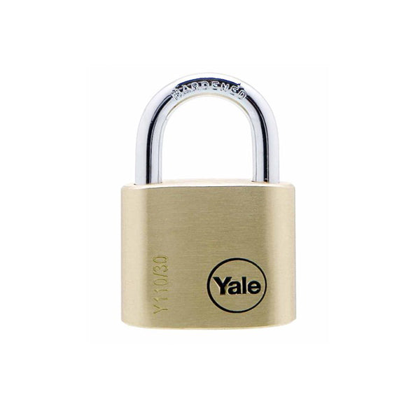 YALE Y110/30/117/1 BRS PADLOCK 3KEY <br> សោរ - Home-Fix Cambodia