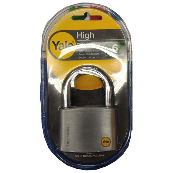 YALE Y120/70/141/1 SC PADLOCK 3KEY <br> សោរ - Home-Fix Cambodia