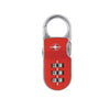 YALE YTP2/26/216 RESETTABLE TRAVEL LUGGAGE PADLOCK RED <br> សោរចាក់វ៉ាលី - Home-Fix Cambodia