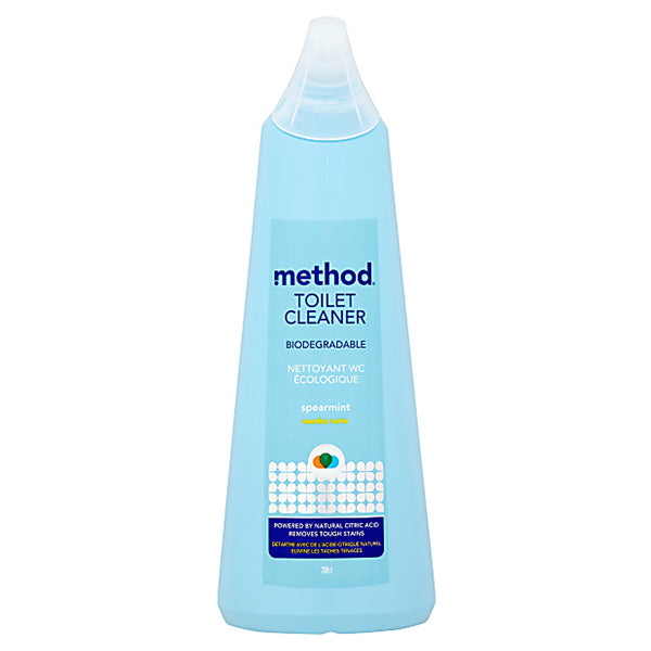 METHOD TOILET CLEANER ANTIBAC SPEARMINT 709ML<br>ទឹកបាញ់សម្អាតបន្ទប់ទឹក 709 មីលីលីត្រ - Home-Fix Cambodia