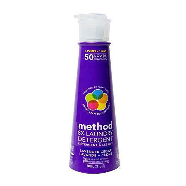 METHOD LAUNDRY DETERGENT 50 LOAD LAVENDER 600ML<br>សាប៊ូទឹកបោកសំលៀកបំពាក់ ក្លិនផ្កាឡាវេនឌ័រ 600 មីលីលីត្រ - Home-Fix Cambodia