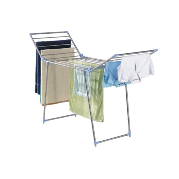 MAXPLUS MPD2118X0 COLLAPSIBLE DRYING RACK SILVER<br>ស្នួរហាលសំលៀកបំពាក់ - Home-Fix Cambodia