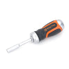 TACTIX 205247 7IN1 STUBBY RATCHET SCREWDRIVER W/BITS <br> ឈុតទួណឺវីសជាមួយផ្លែ - Home-Fix Cambodia