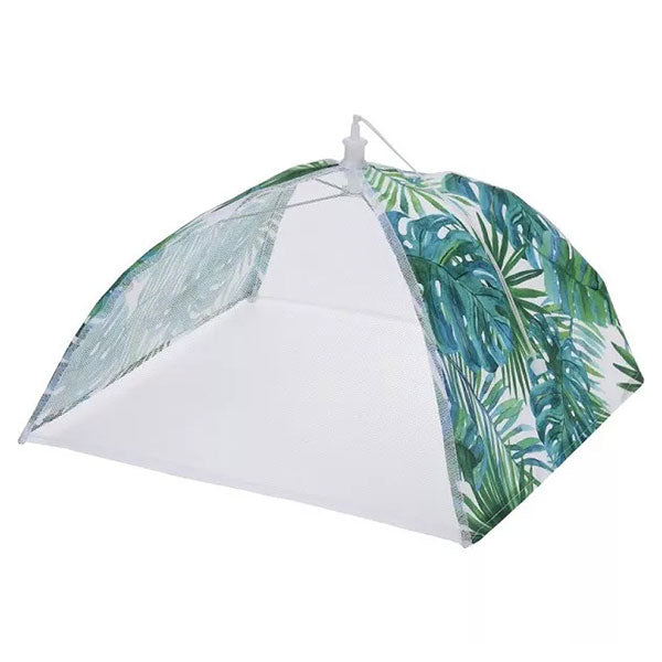 KOOPMAN 170451480 FOOD COVER 12 INCH /30CM POLYESTER WITH LEAF DESIGN