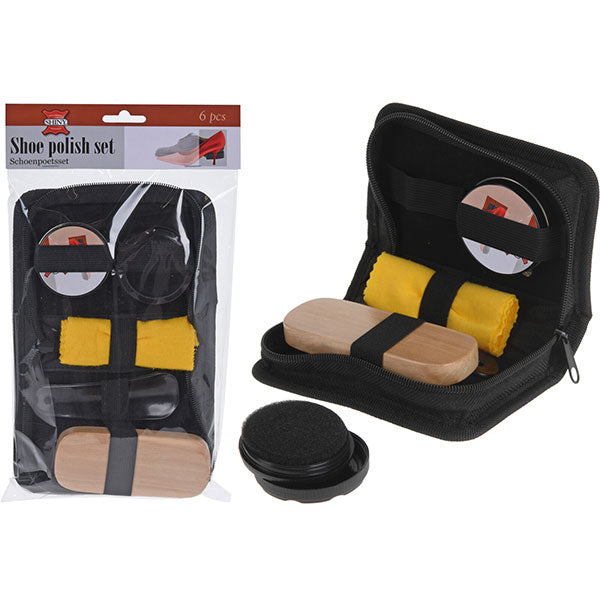 KOOPMAN 836240000 SHOEPOLISH SET (6PCS)