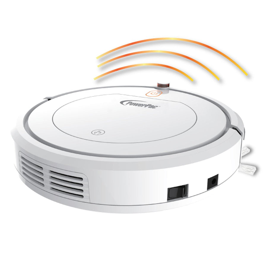 POWERPAC PPV3100 SMART ROBOTIC VACUUM CLEANER WITH REMOTE CONTROL