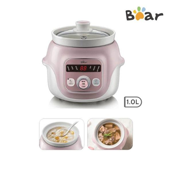 DIGITAL SLOW COOKER WITH CERAMIC POT 1.0L