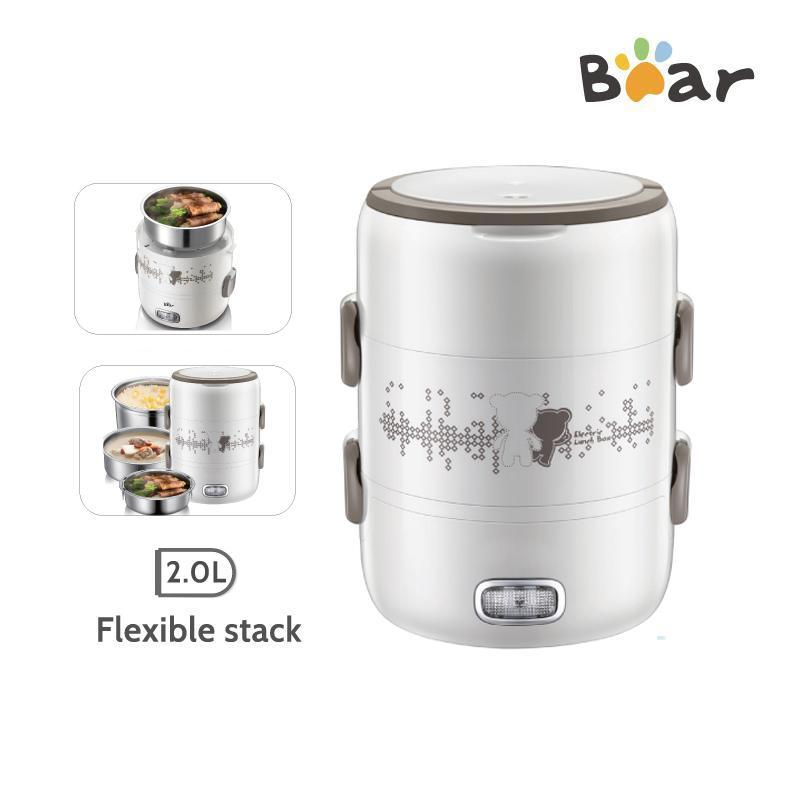 4-IN-1 ELECTRIC PORTABLE HEATING LUNCH BOX 2.0L