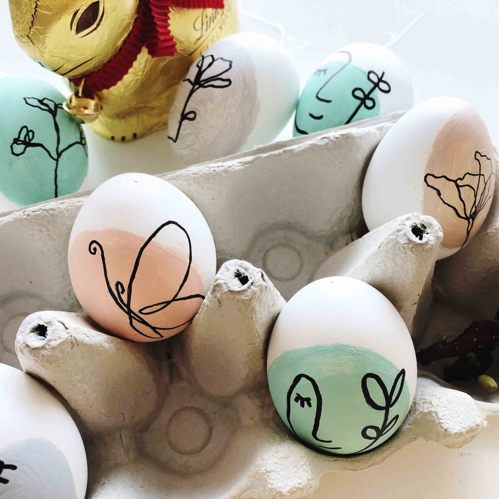 Happy Easter! Pretty Easter decorations quickly and easily self-made! | Suzu Papers