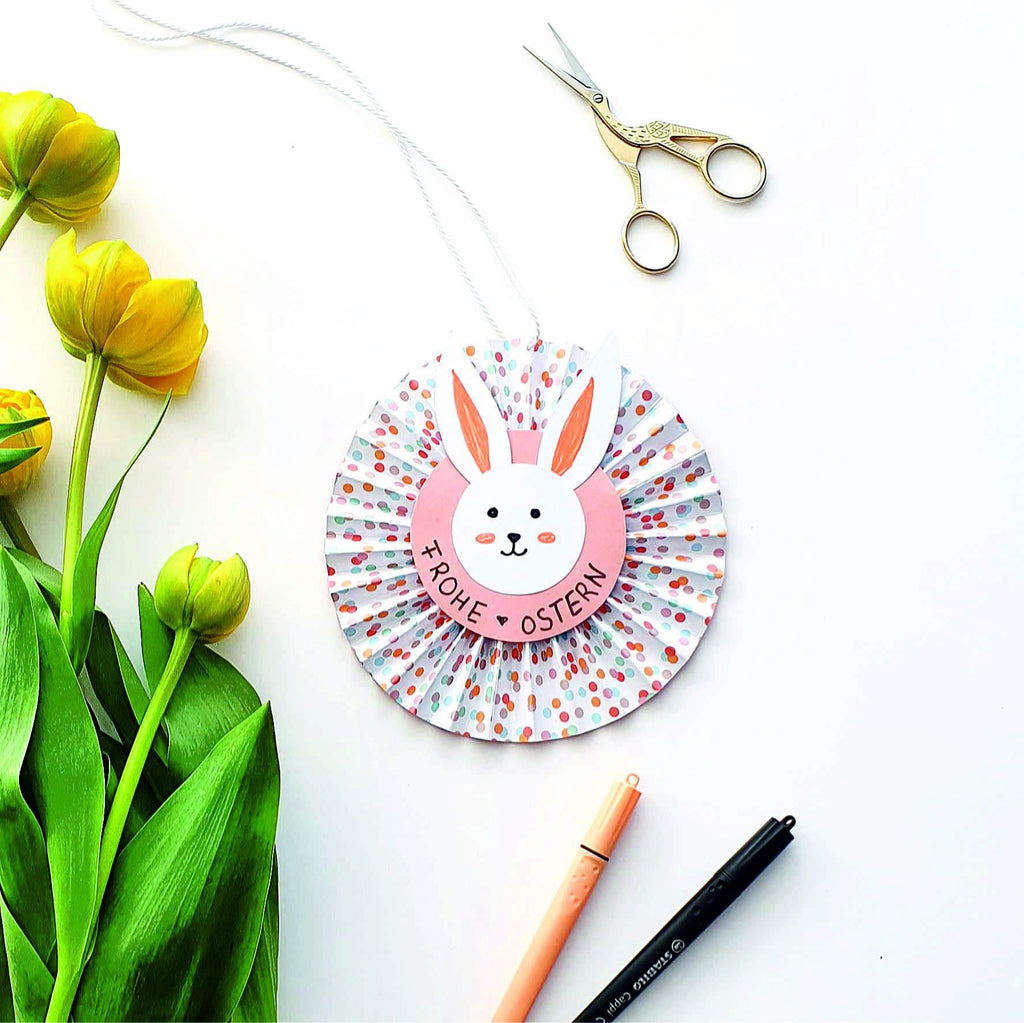 Easter paper decoration for hanging - handicrafts with children Day 1 | Suzu Papers