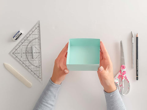 DIY explosion boxes: The simple lid of an explosion box - DIY explosion boxes: The basic lid of an explosion box