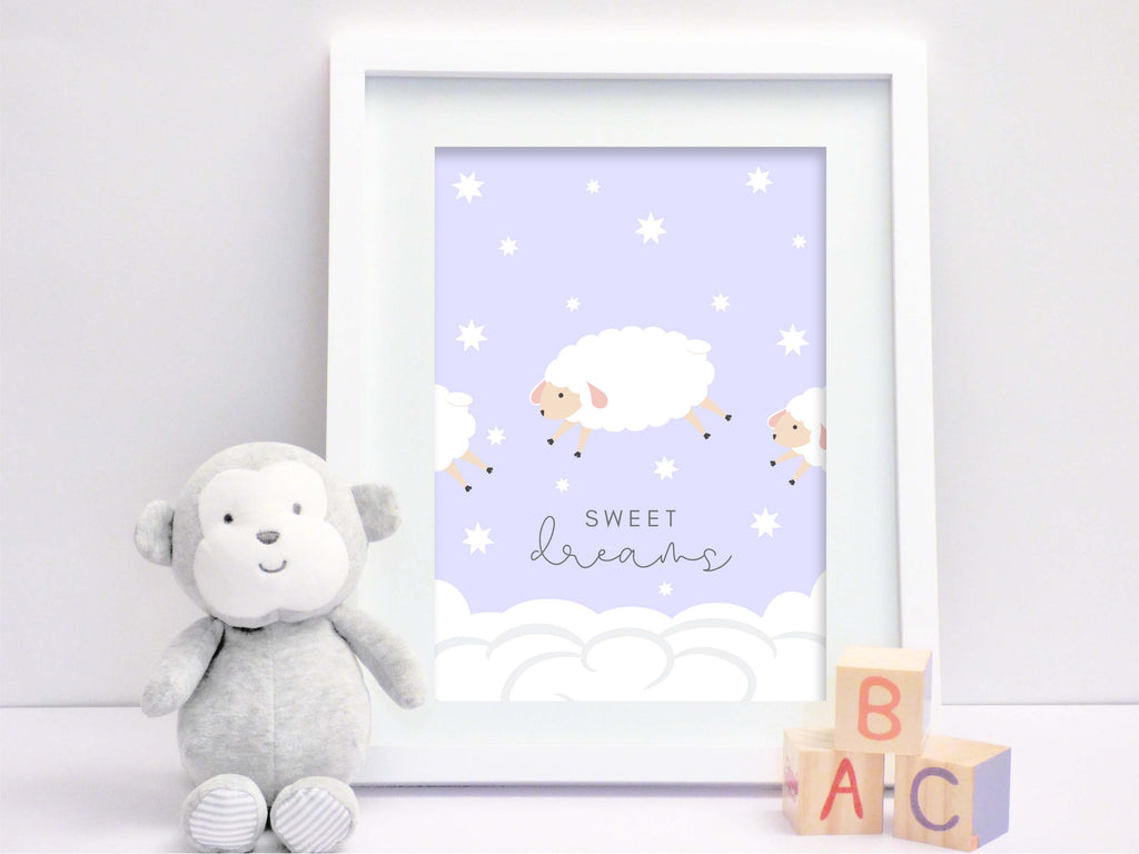 Freebie boys baby and nursery picture Sweet Dreams - Suzu Papers