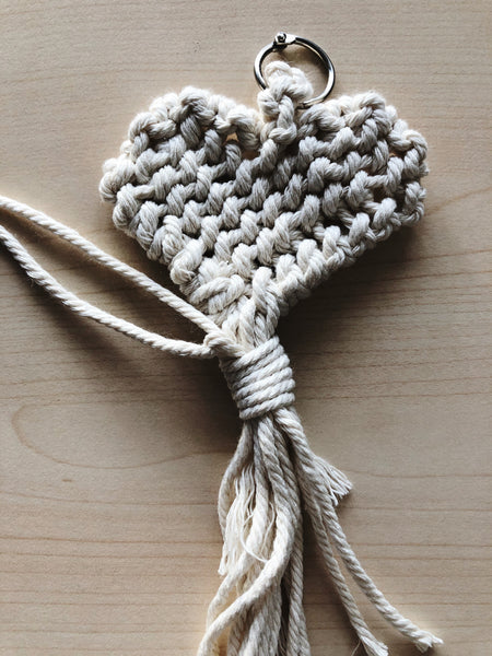 Suzu Papers - Macrame Personal Gift Heart