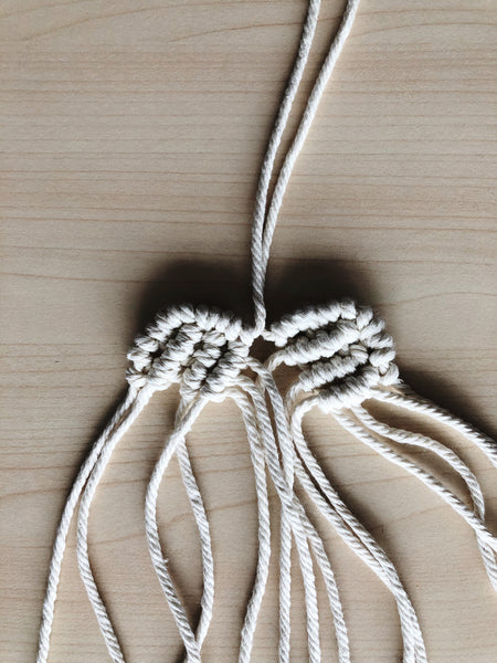 Suzu Papers - knot and tie macrame hearts