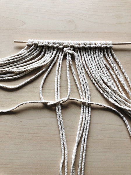 Suzu Papers - DIY macrame coasters as a gift idea for him and her