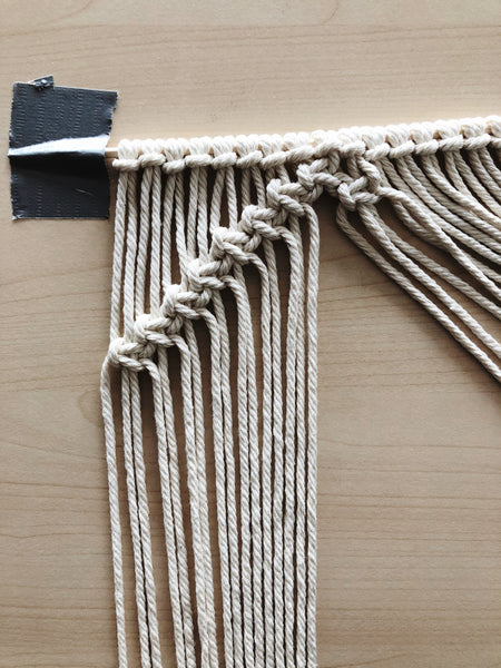 Suzu Papers - DIY macrame coasters adults to make yourself