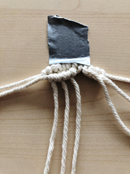 Suzu Papers - Macrame heart coasters to make yourself