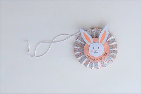 Suzu Papers Blog - Handicrafts with children - Easter decoration hanger 25
