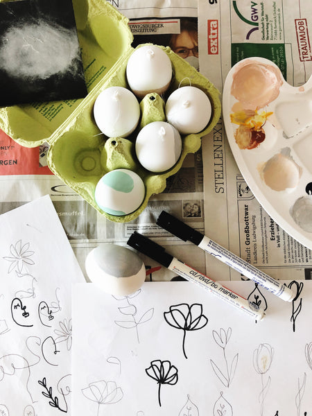 Suzu Papers - Easter eggs beautifully painted