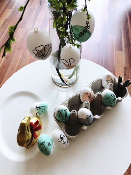 Suzu Papers - DIY Easter Egg Making