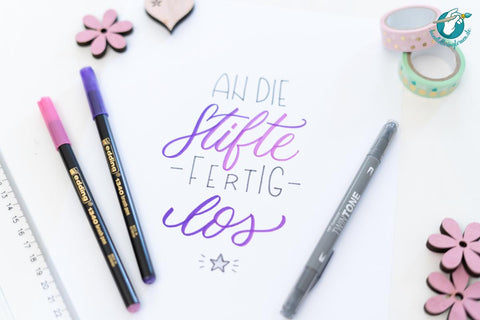 Mother's Day gift idea - hand lettering online course - suzu papers blog