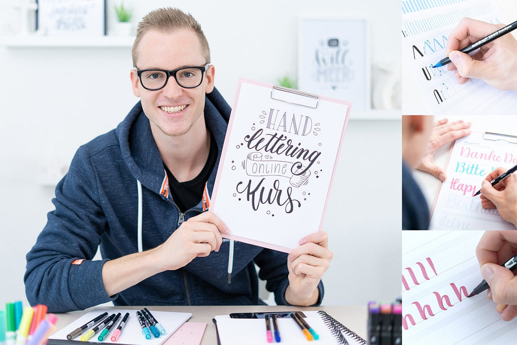 Hand lettering course