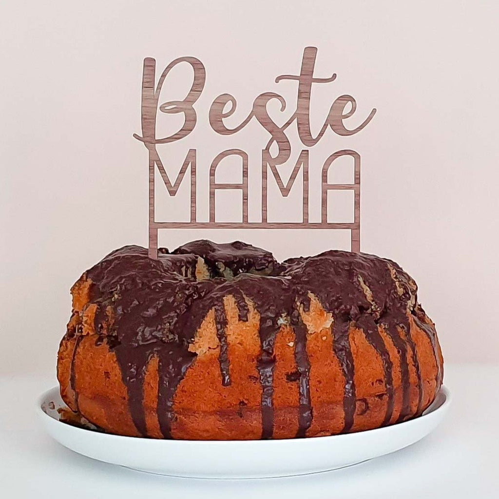 Cake Topper BEST MOM