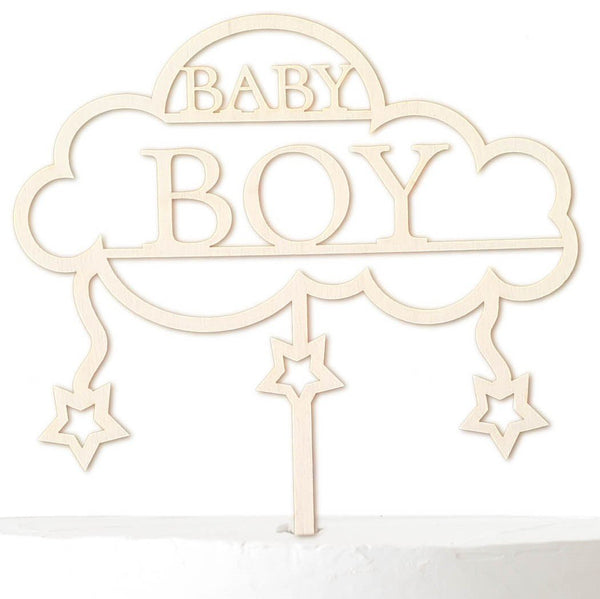 Cake Topper BABY BOY - Suzu Papers