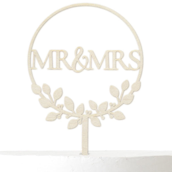 Cake Topper MR&MRS - Suzu Papers