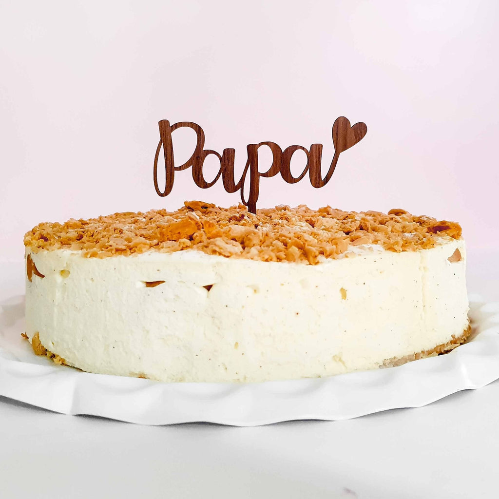 Cake Topper PAPA ♥ - Suzu Papers