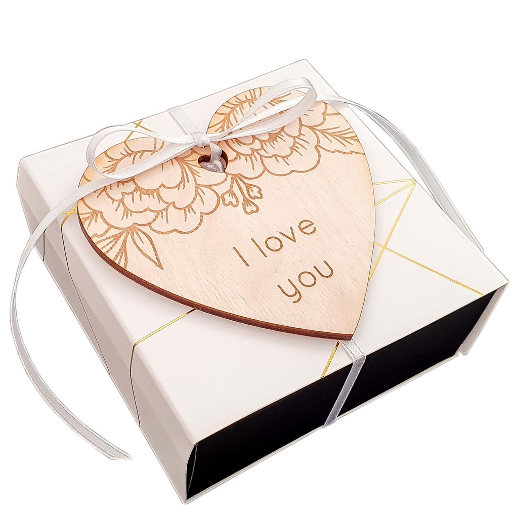 DIY photo album gift box I LOVE YOU - Suzu Papers