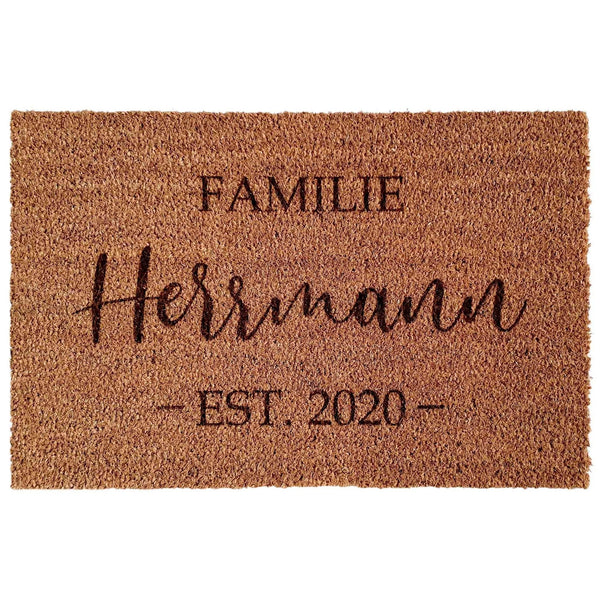 Doormat FAMILY - Suzu Papers