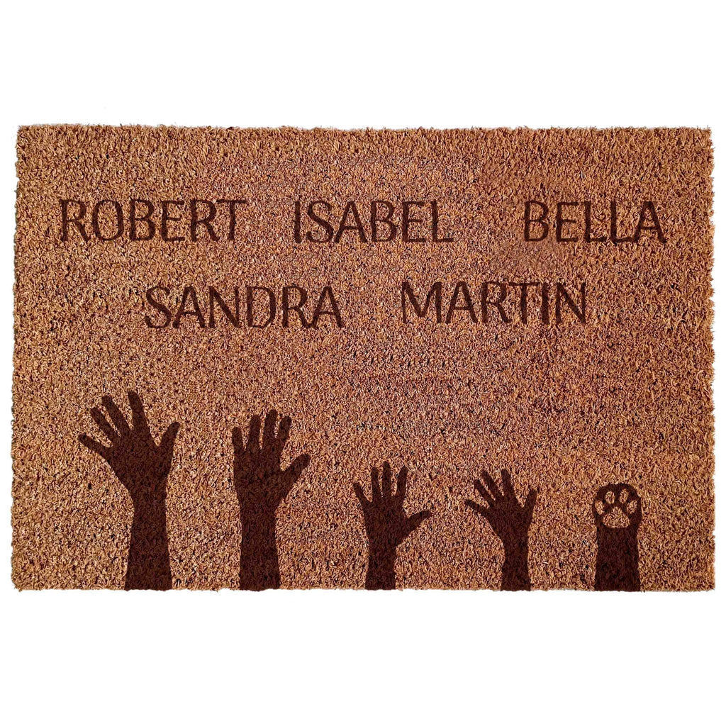Doormat FAMILY GREETING - Suzu Papers