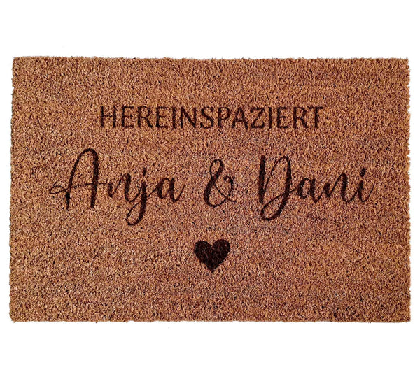 Doormat COUPLES - Suzu Papers