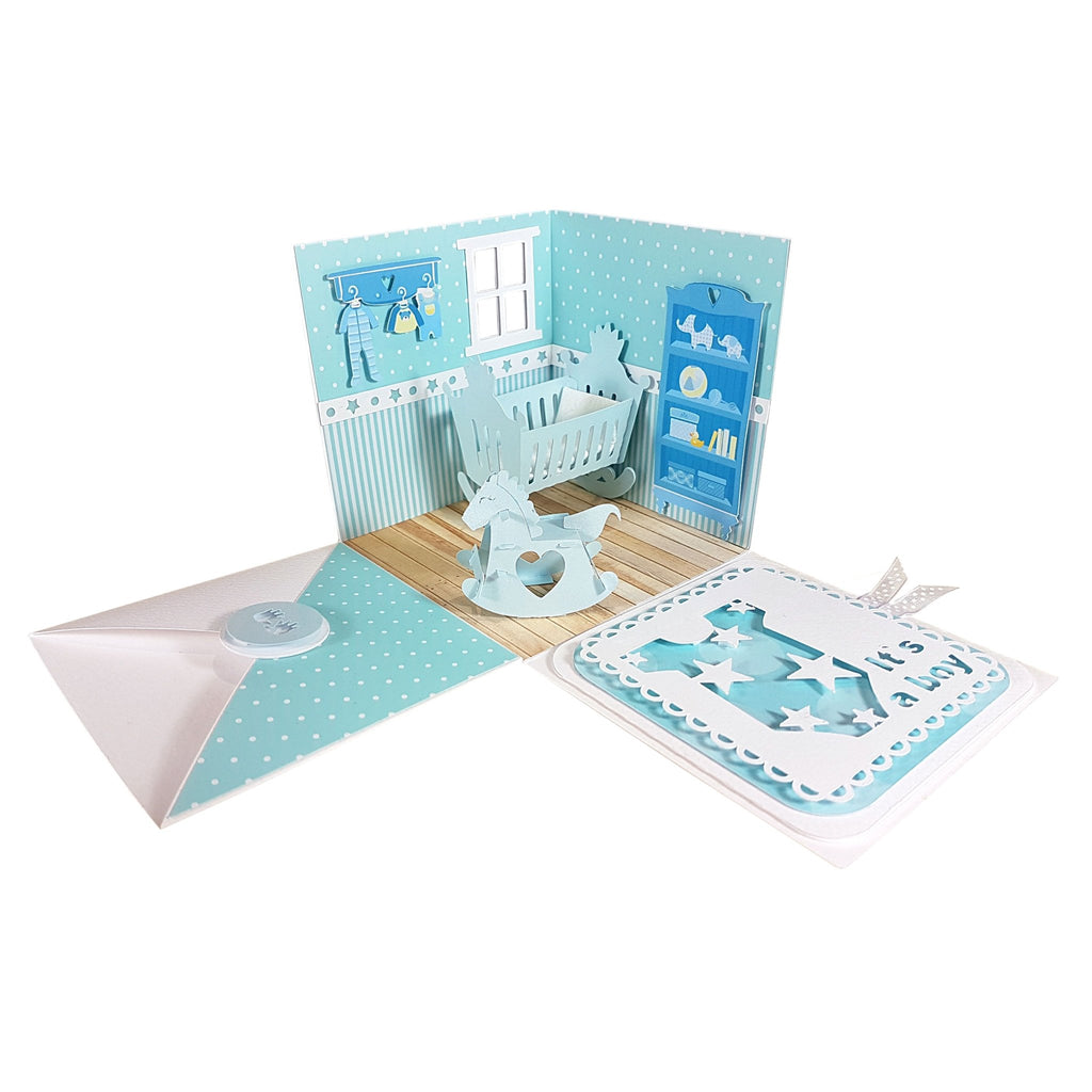 "Boy baby gift box ""DANTE"" - baby box - suzu-papers"