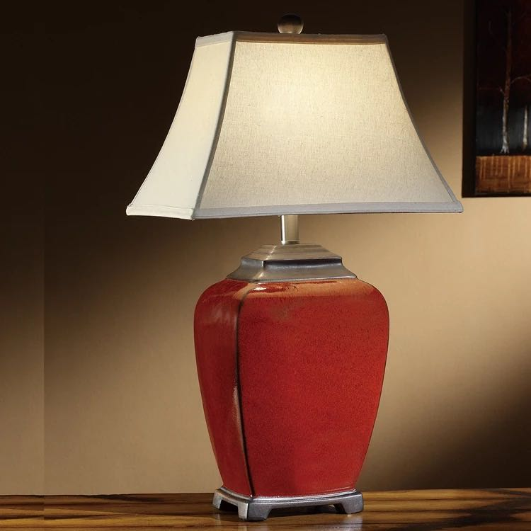Ceramic table lamp 01