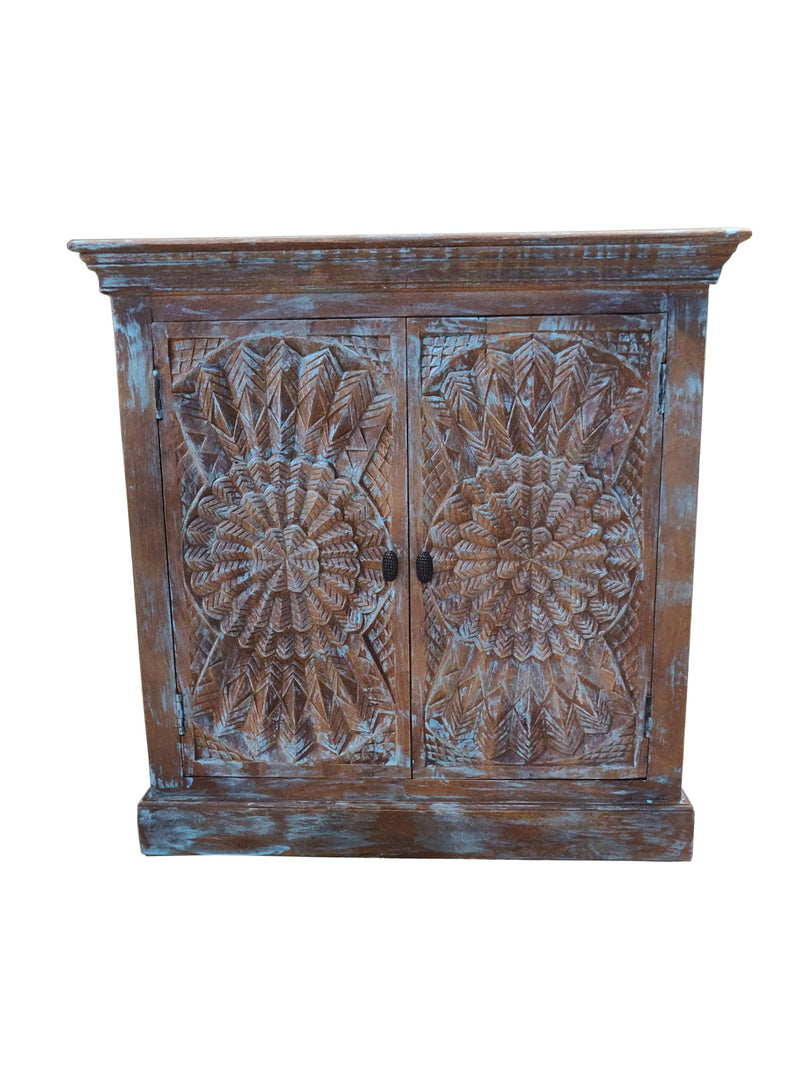 India Wooden Side Cabinet 0304