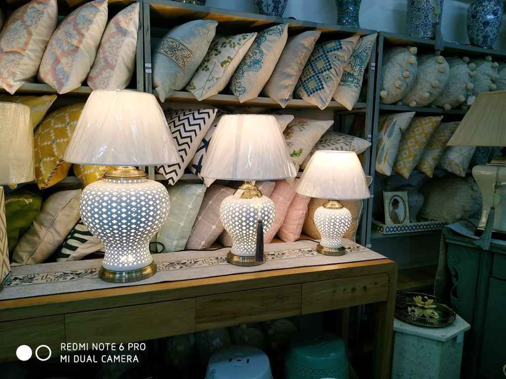 Porcelain Lamp 0223